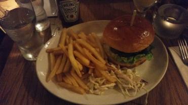 hamburger / frite